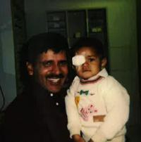 Dad and me at enu