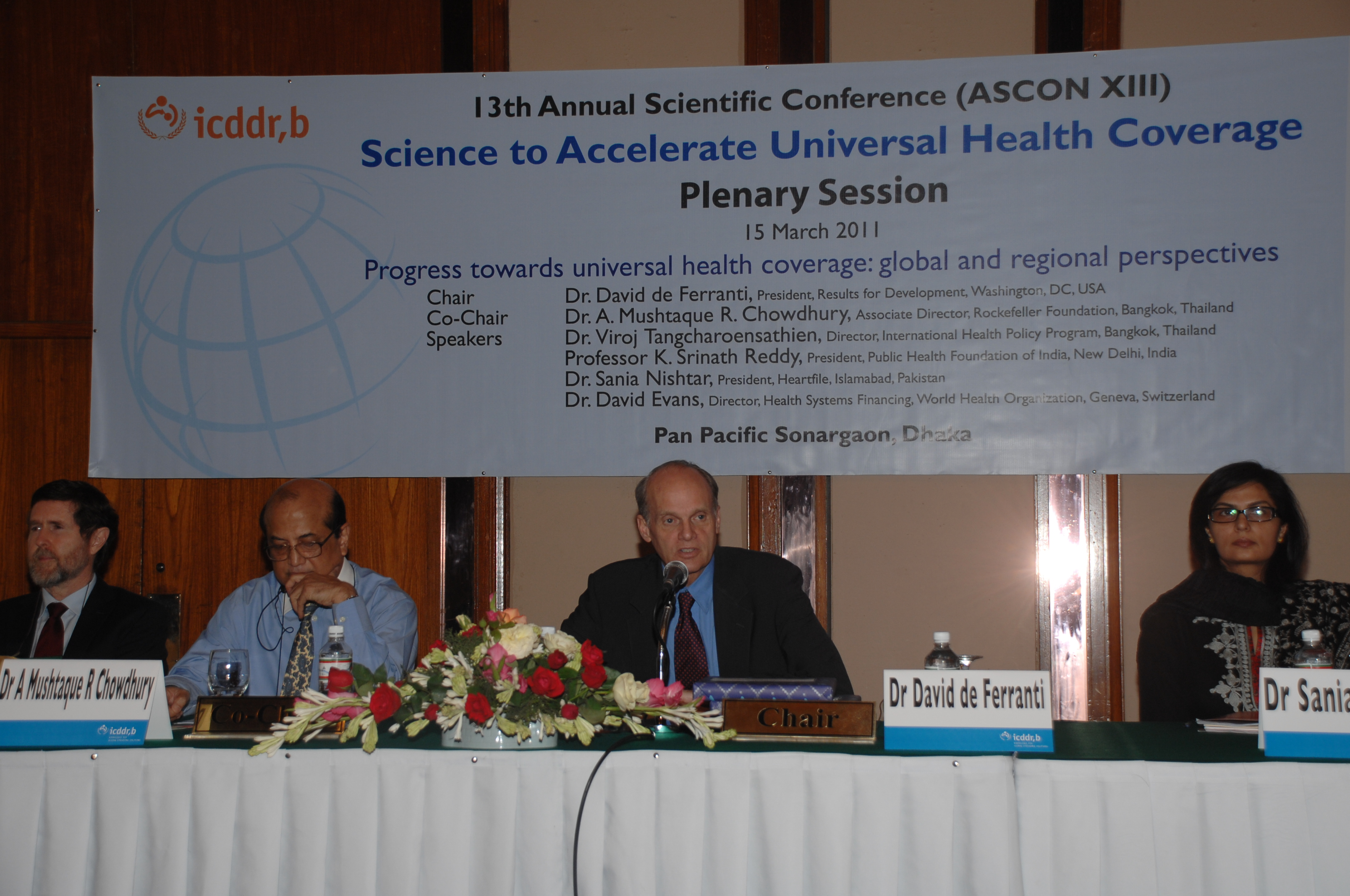 13th Annual Scientific conference ICDDR,B