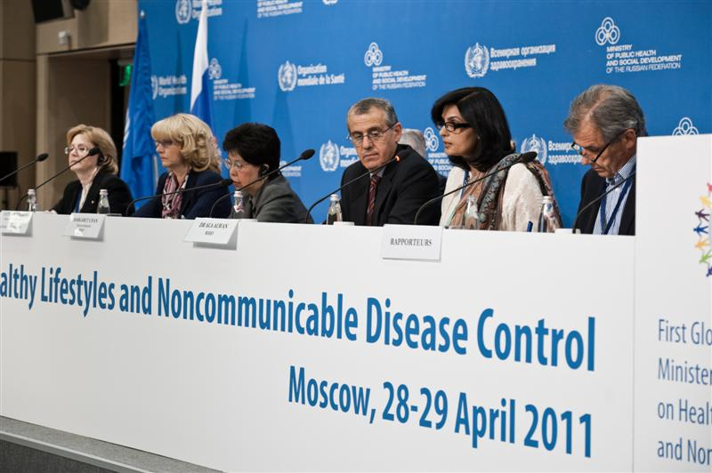 MOSCOW MINISTERIAL MEETING ON NCDS
