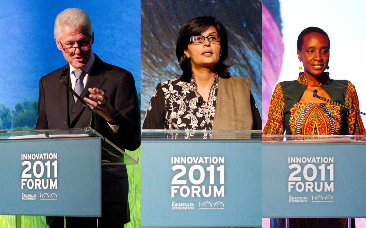 Awardees of the first Global Innovation Award, New York 2011
