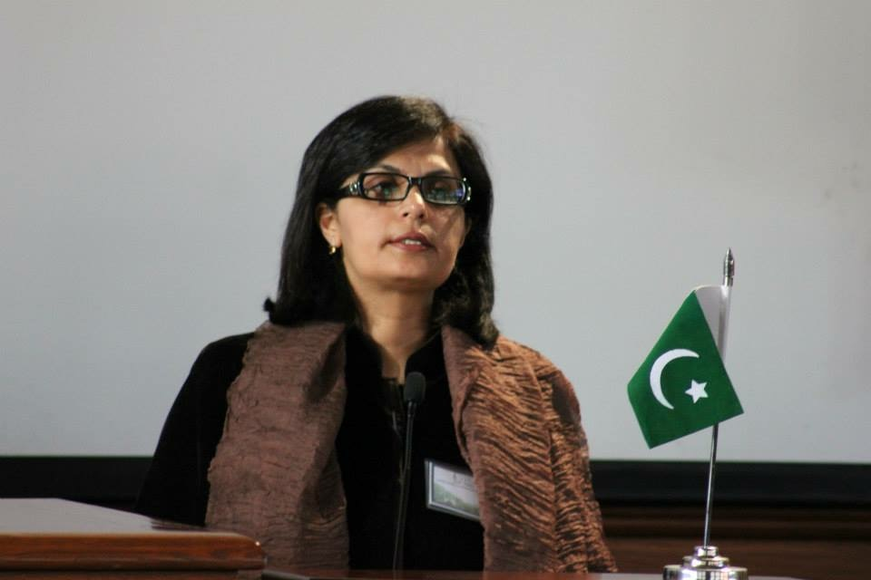 Sania Nishtar at the Pakistan Harvard Forum 2015