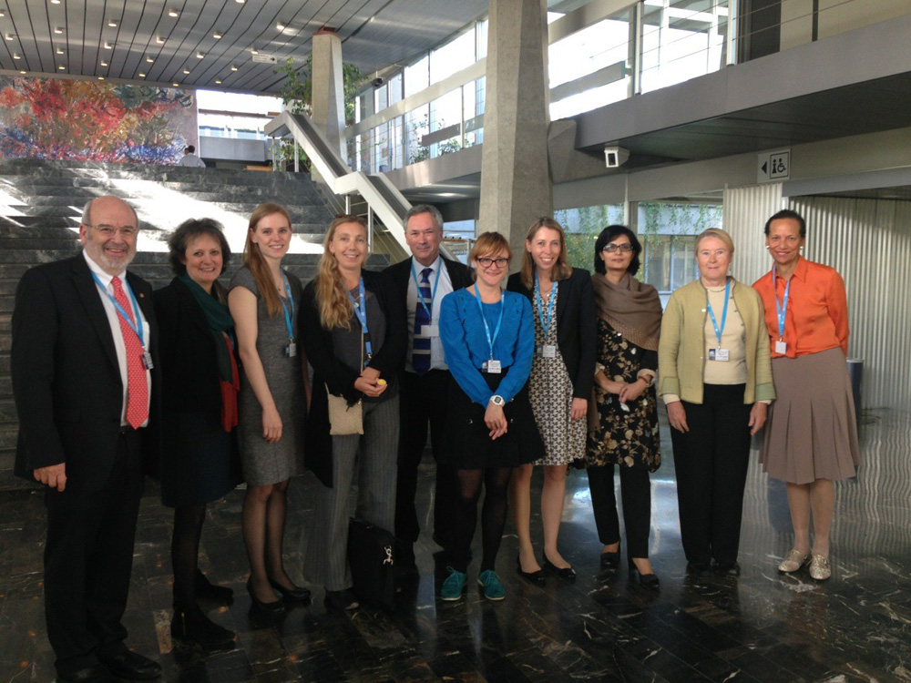 WHO Commission on Ending Childhood Obesity hearing with Civil society, Geneva