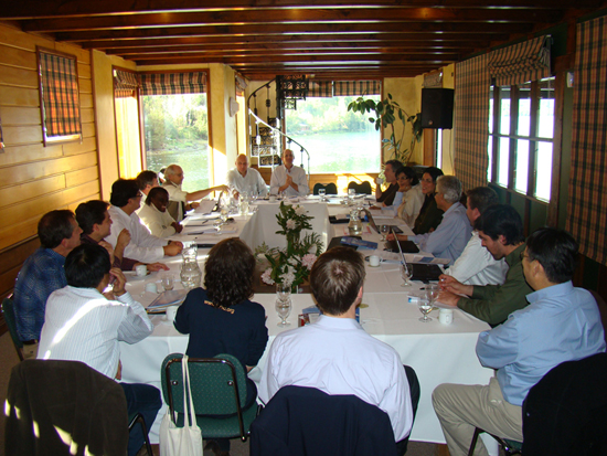 Meeting in Chile; October 19–21, 2009