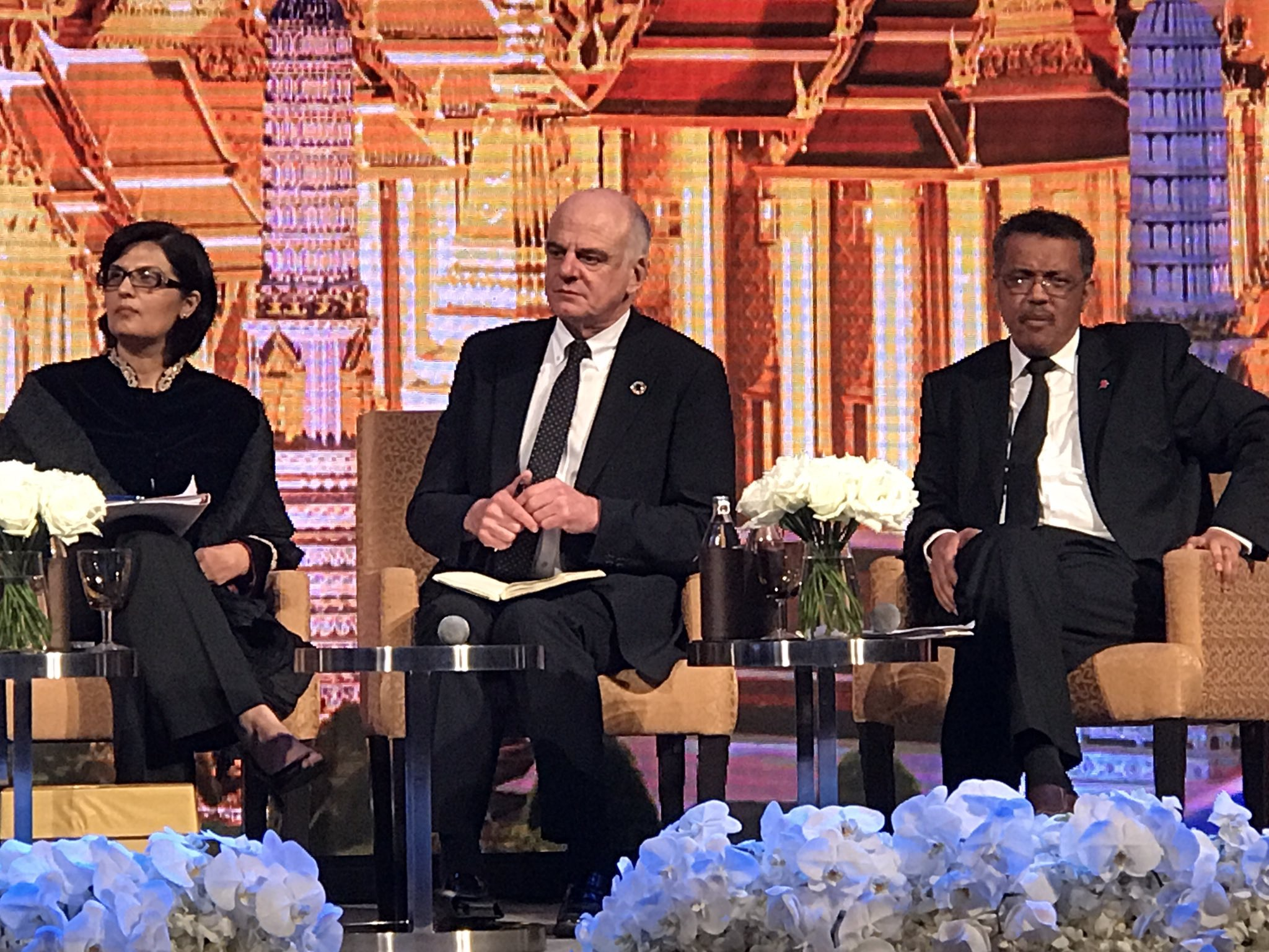 Prince Mahidhol Award Conference, Opening Dinner Panel, 2017
