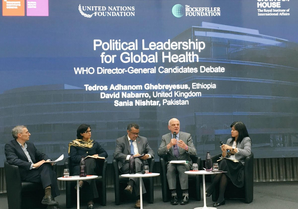 Political leadership for global health